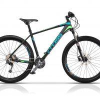 """Bicicleta Cross Extreme Eco 27.5"""" Negru/Albastru/Verde"""