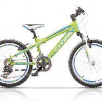 """Bicicleta Cross Gravito S 20"""" Verde/Albastru/Alb"""